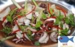Hướng dẫn chế biến món bạch tuộc hấp gừng thơm ngon