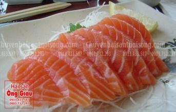 Cá hồi vân đỏ tươi sống và những thơm ngon hấp dẫn dễ thực hiện