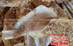 Khô cá đổng tẩm mè giá bán bao nhiêu tiền 1 kg ở tại TpHCM