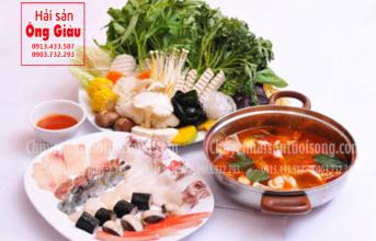 Cách nấu lẩu hải sản thập cẩm chua cay kiểu Thái ngon