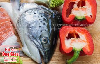 Cách khử mùi tanh đầu cá hồi chế biến thành các món ăn ngon