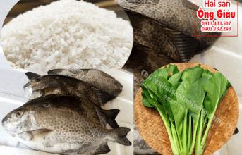 Cháo cá Dìa nấu với rau gì ngon đúng chuẩn vị nhất bổ cho bé