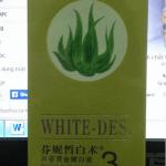 Tinh chất lô hội trắng da White-Des