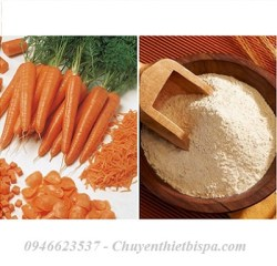 Bột mặt nạ cà rốt