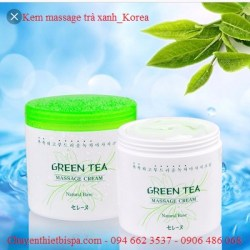 Kem Massage Trà Xanh Hàn Quốc Green Tea Massage Cream (450ml)
