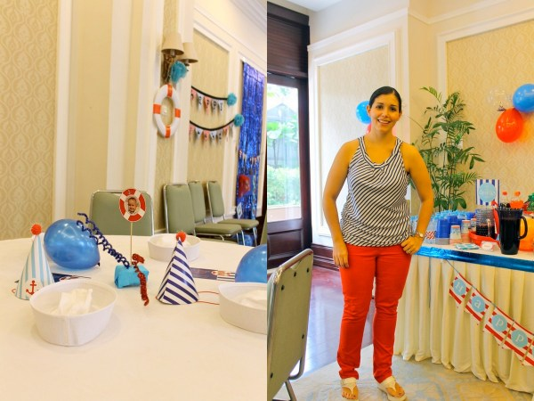 Nautical Birthday Party11