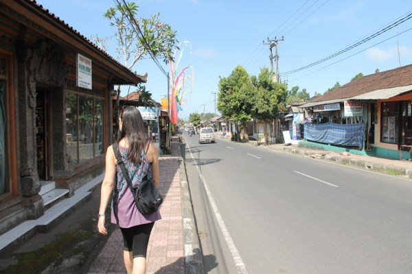 Jalan Raya Gentong Shopping in Ubud