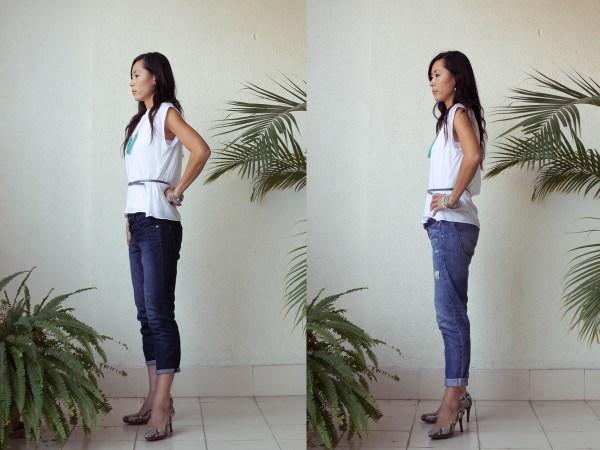 iSanctuary blue necklace & jeans2