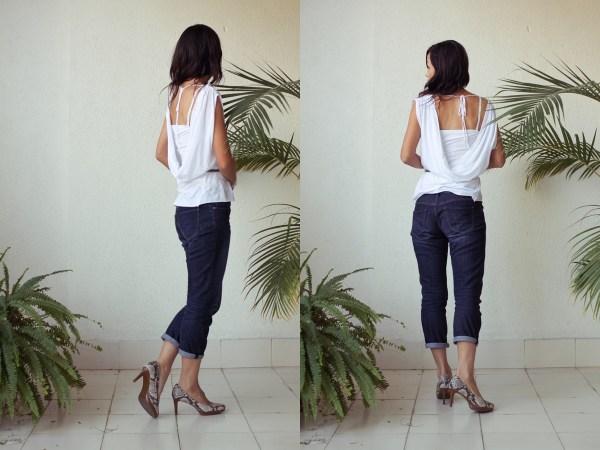 iSanctuary blue necklace & jeans3