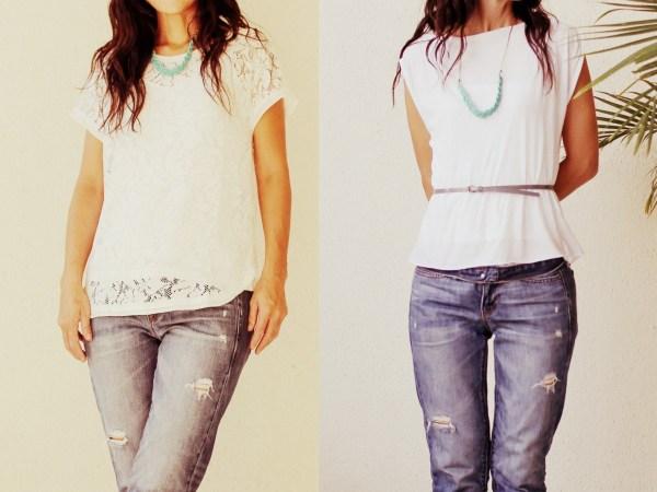 iSanctuary blue necklace & jeans4