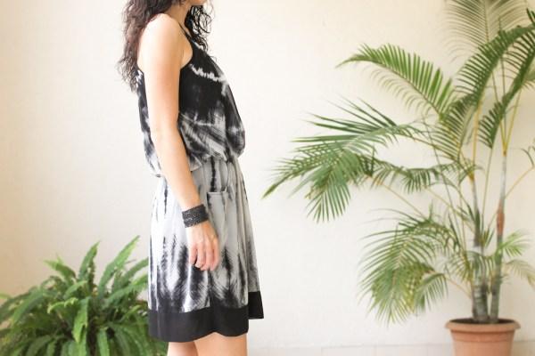 AND tie-dye dress