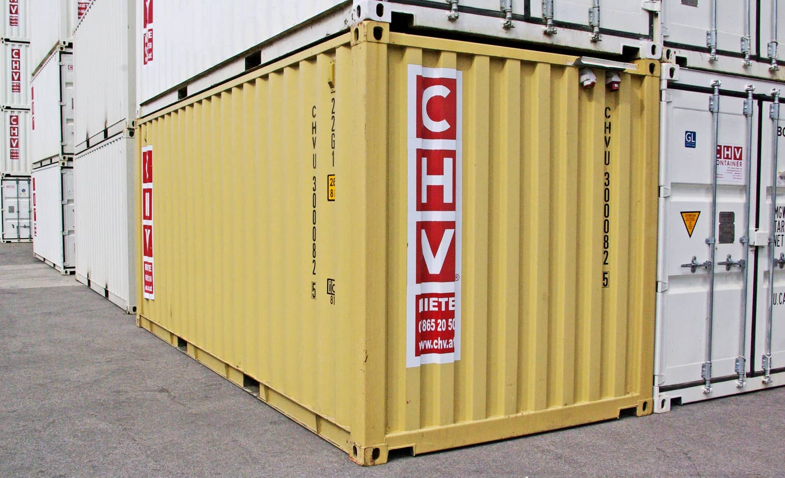 Seecontainer 20ft Used Shipping Container With Electrical System - Chv : Chv