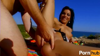 Jordanne Kali agrees to fuck once more by the beach
