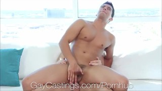 HD - GayCastings California student comes for a porn audition