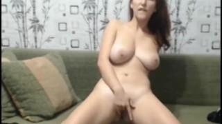 Hard ass dildo fuck