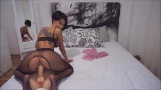 Anisyia  Stockings Bodysuit extreme highheels riding huge cock