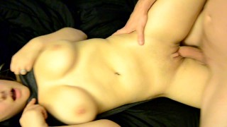 Amateur Girl Stuffed Full of Dick