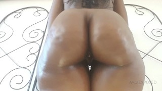 Ayla - Oily Ass Shaking and Clapping