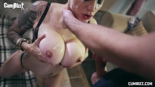 CumBizz Mila Milan DirtyBizz Bukakke Big Tits Huge Cum Loads