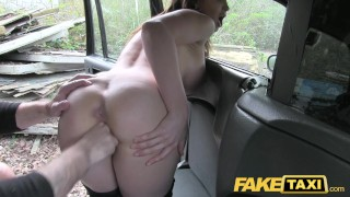 Fake Taxi Hot Australian brunette in heels