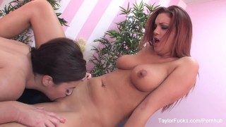 Jayden Cole gets a special massage from Taylor Vixen