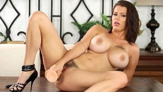 CrushGirls - Peta Jensen has some fun with her Dildo