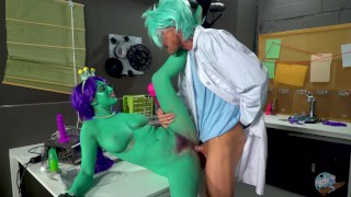 """Rick and Morty Porn Parody: """"Dick and Morty"""""""