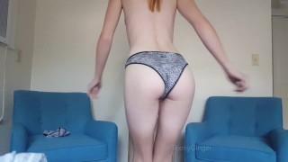 TeenyGinger Shows Off 8 Pairs of Panties