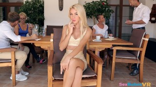 SexBabesVR - Coffee and Tequila with Katrin Tequila