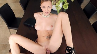 SexBabesVR - Naughty Hotel Manager with Belle Claire