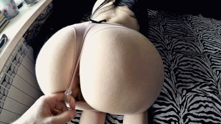 Round Ass Babe Fucked Hard and Got Awesome Cunnilingus Orgasm