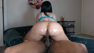 Fucking my neighbors slut wife w/ beautiful ass!