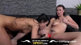 Vipissy - The Pedicure - Lesbian Piss Drinking