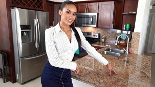 PropertySex - Dad fucks hot ass Latina real estate agent
