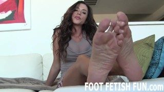 Foot Licking and Femdom Foot Humiliation