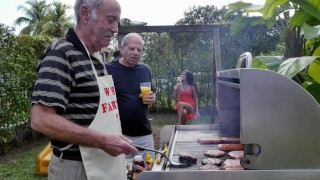 BLUE PILL MEN - Old Men Have A Cookout With Teen Stripper Jeleana Marie