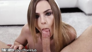 Sydney Cole Takes That Dick All the Way Down Throat!