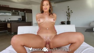 EXOTIC4K SPIT on big dick PUNISHMENT