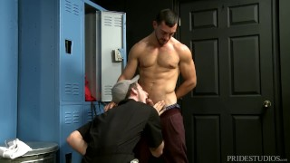 Young Muscle College Boy Rough Fucks Horny Janitor