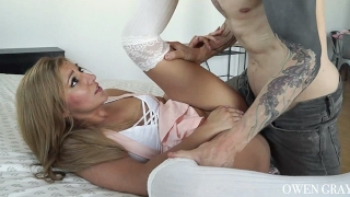 Fun hookup sex tape with Moka Mora