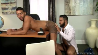 2 Cute Funny Big Dick Latino Boys Sucking Licking & Fucking