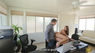 LOAN4K. Sweet thing Liza isn't whore but appears in dirty loan porn