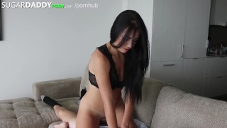 SEXY ASS Teen Has SugarDaddy Take Her Shopping Then Lets Him SMASH IT.