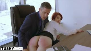 TUSHY Bree Daniels' FIRST Anal Sex Scene