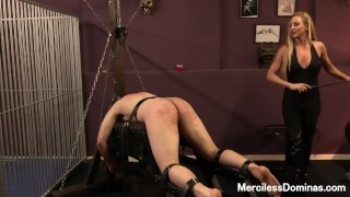 Miss Suzanna's Favorite Number - Painful Bastinado Session with Goddess