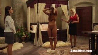 The Education of Adela: Mistress Teaches Lady How To Treat A Slave