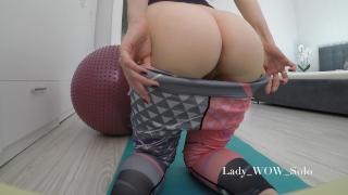 The best bubble butt in yoga pants 4K
