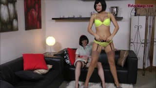 FFstockings - Strapon Cum Sluts