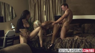 Digital Playground - Vicki Chase watches Jessie Volt & Erik Everhard fuck