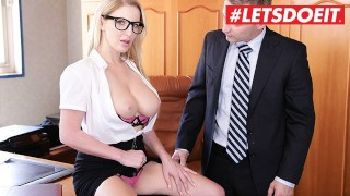 Busty Schoolgirl Gets Tight Pussy Fucked